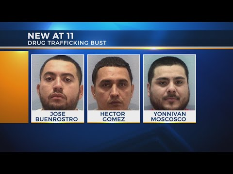Three suspected drug traffickers arrested in Licking County