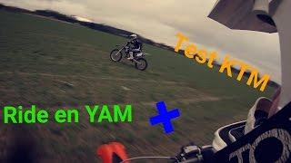 Ride entre potes + test de la KTM en musique  ( Video re-upload )