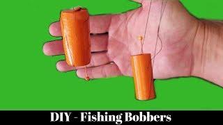 DIY Fishing Bobbers Using Wine Corks