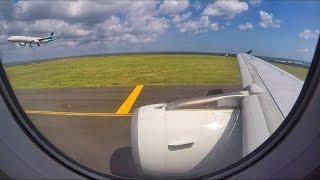 Video BRIGHT TAKEOFF | Indonesia Air Asia X A320 in Denpasar Bali download MP3, 3GP, MP4, WEBM, AVI, FLV Juni 2018