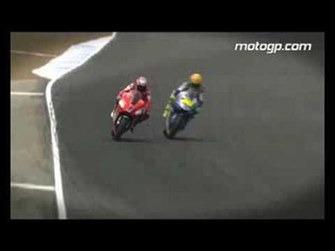 Rossi-Stoner Laguna Seca 2008 battle