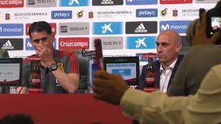 Fernando Hierro, Presentado como Nuevo Seleccionador Nacional