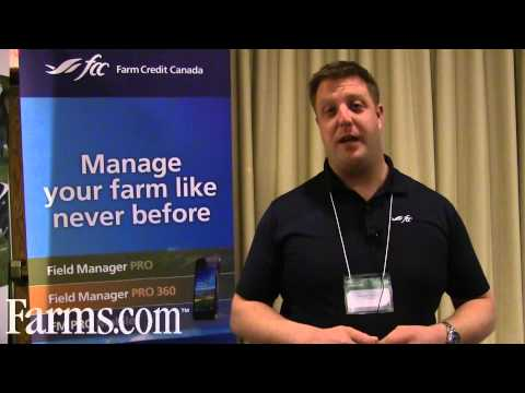 Farm Credit Canada Management Software Field Manager Pro Has Mobile Capabilities.