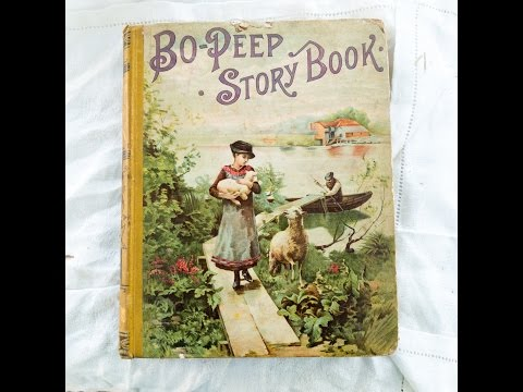 Victorian Children's Book Stash from the Barn