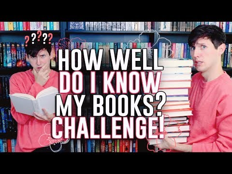 HOW WELL DO I KNOW MY BOOKS? CHALLENGE!