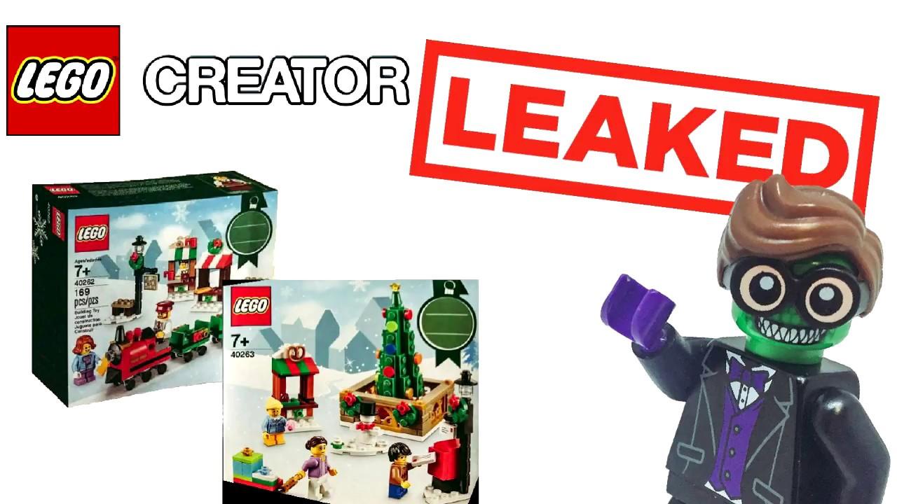 Lego Christmas 2017 Sets Leaked - YouTube