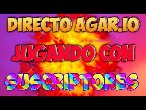DIRECTO AGAR.IO | JUGANDO CON SUSCRIPTORES