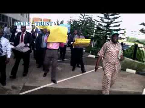 Oteh must go, say staff of Securities and Exchange Commission.flv