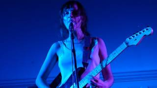 Cherry Glazerr - Chewing Cud live Liverpool Central Library 21-05-17