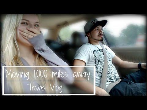 Moving 1,000 miles away (Moving Vlog) | Josie Loren