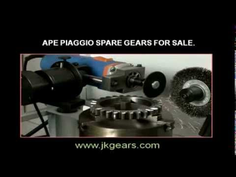 Ape Piaggio Cluster Gears Manufacturer By J K Gears Machinery