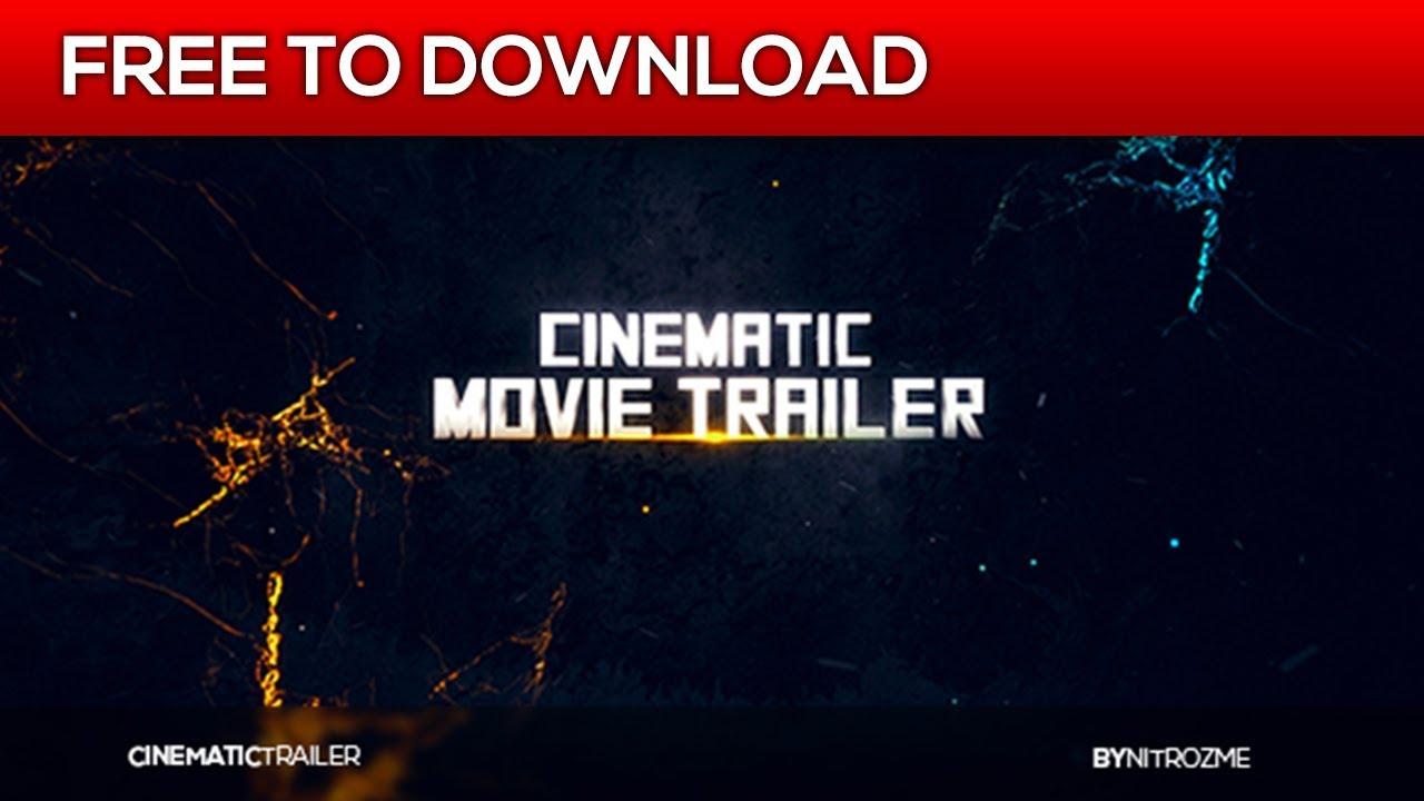 movie trailer after effects template free download. Black Bedroom Furniture Sets. Home Design Ideas