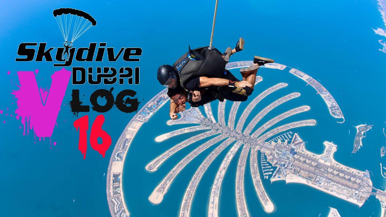 Skydive Dubai 2021 I Jump From 13000 feet I Zahid Vlog