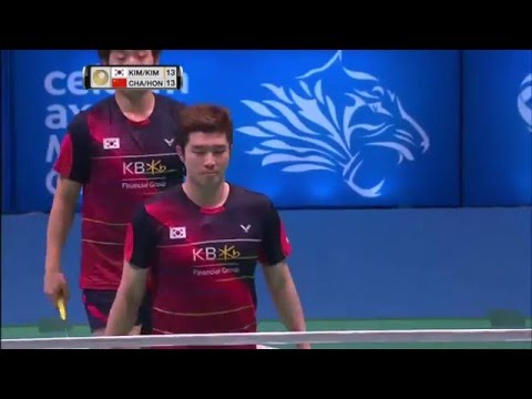 2016 Malaysia Open F - Kim Gi-Jung/Kim Sa-Rang vs Chai Biao/Hong Wei