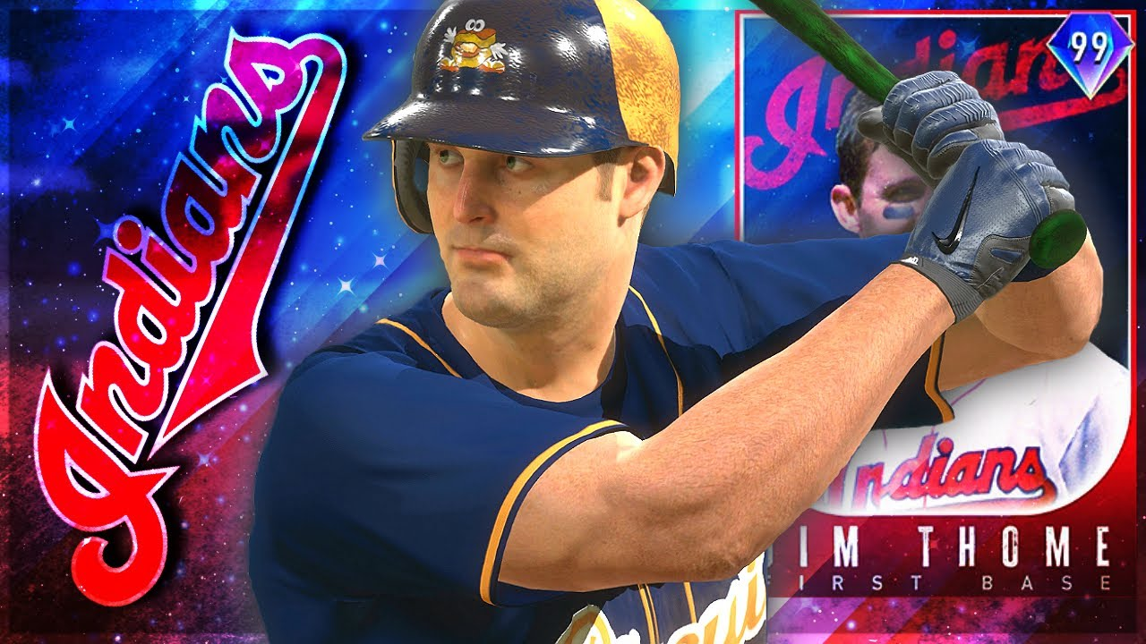 99 Jim Thome Is A BEAST! HUGE 125 MAXED POWER! MLB The Show 20 Gameplay