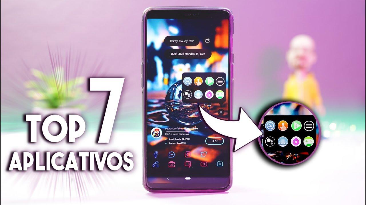 7 APLICATIVOS INCRÍVEIS PARA SEU ANDROID | Top 7 Android Apps