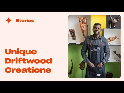 A story of growth: Boniface Chikwenhere (Unique Driftwood Creations)