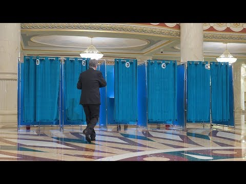 Kazakhstan's first presidential vote in nearly 30 years