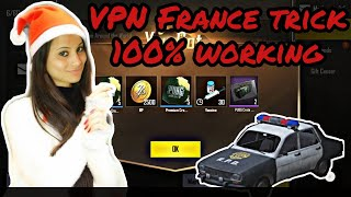 #pubgmobile #vpntrick #newvpntrick  Pubgmobile new VPN trick loot it guys #skingun #skincar #dynmo