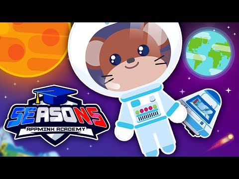 appMink academy 🙀🌎😀 Why do we have seasons ? - Science Video for Children