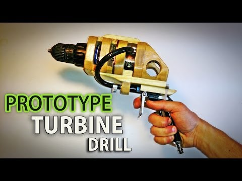 Turbine Drill Prototype