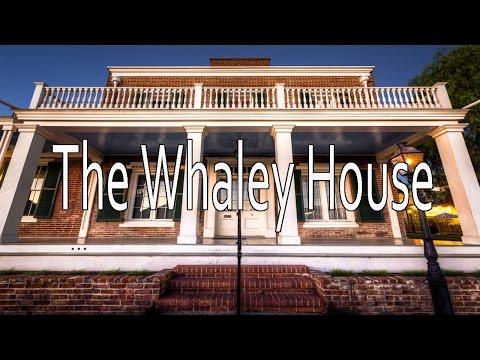 Whaley house tour, dining room video 1