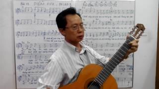 Học guitar căn bản cho người mới bắt đầu - Bài 13: DIỄM XƯA - ballad 4/4