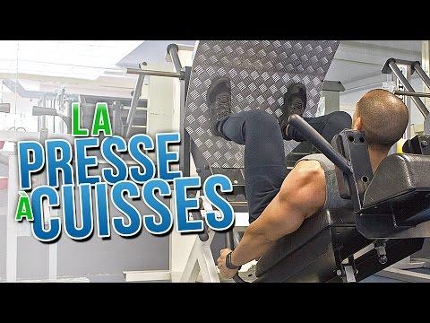 La PRESSE à CUISSES | MUSCULATION bas du corps