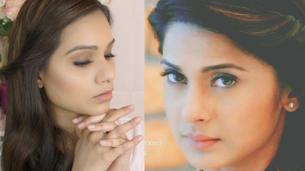 Get The Look | MAYA-Beyhadh (Jennifer Winget) Inspired Makeup Tutorial | Office Makeup - YouTube