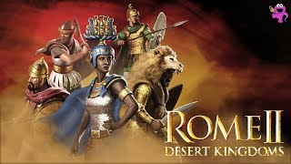Total War Rome 2 Desert Kingdoms DLC and Free Content News + Announcement Trailer