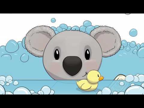 Toddler Bedtime Short with Cuddly Koala