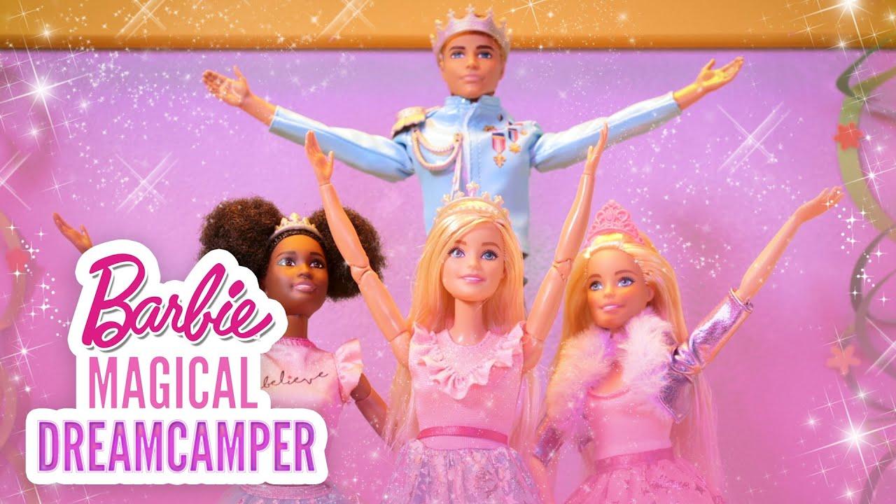 BARBIE & PRINCESS AMELIA✨👑💖Princess Adventure Royal DANCE OFF | Barbie Magical DreamCamper | @Barbie