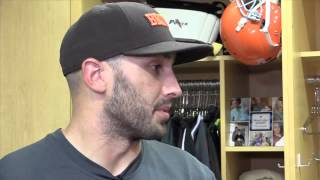 Brian Hoyer talks about facing the Saints in Cleveland Browns home opener