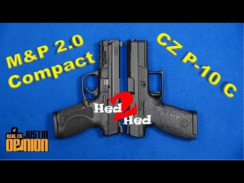M&P 2.0 Compact vs. CZ P-10 C