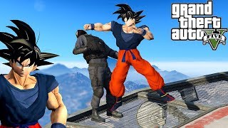 GTA 5: Hardest Knockouts - Son Goku Edition (K.Os) #9 (Best Punches, Dragon Ball Z, Vines, Migos)