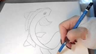 Draw a Koi Fish   Beginner Syle
