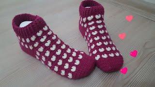 Kalpli Çorap Yapımı