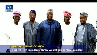 Excos, Past Leaders Of UNILAG Alumni Association Pledge Support For New President
