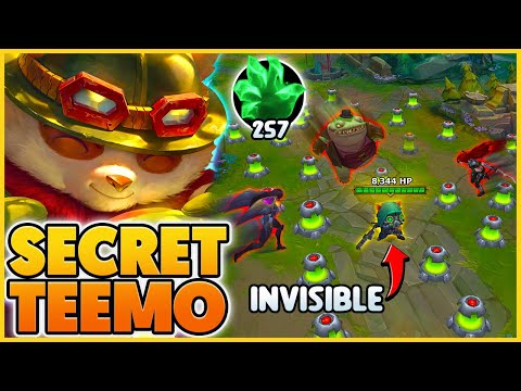 My Secret Teemo Strategy (FREE 8,000+ HP) - BunnyFuFuu | League of Legends