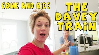 COME AND RIDE THE DAVEY TRAIN