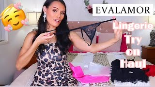 💖 EVALAMORE LINGERIE TRY ON HAUL  || AngelsFashion