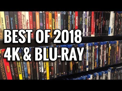 The Best 4K UltraHD & Blu-ray Releases of 2018