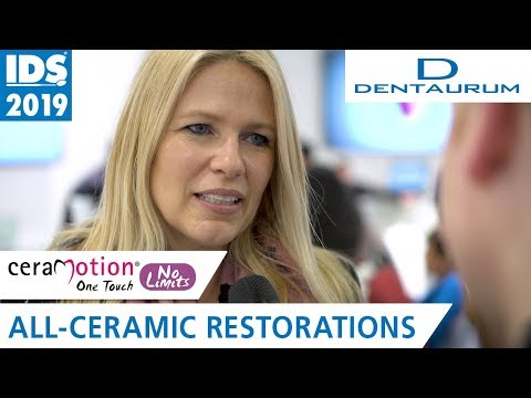 ceraMotion® OneTouch No Limits and Pink | DENTAURUM @ IDS 2019