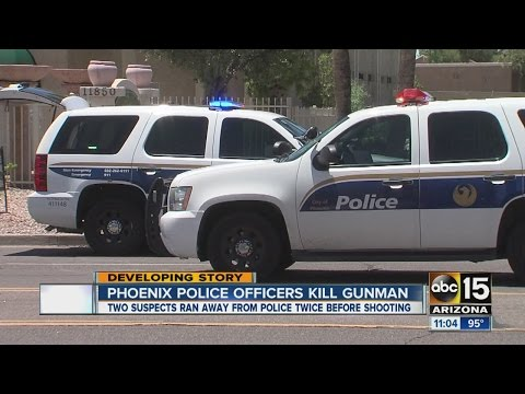 ABC15 News at 11am Phoenix police officers kill gunman