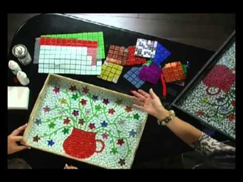 PNA - How to do mosaic projects using mosaic and ceramic ti