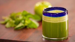 Healthy Power Green Juice Recipe