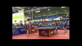 World Veterans Championships table tennis 2014  MEN 40 49 SEMI FINAL