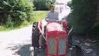 Massey Ferguson with V6 car engine