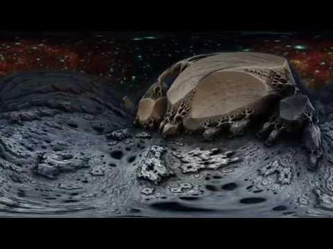 Долина смерти - фрактал 360° 4K High Bitrate видео для VR