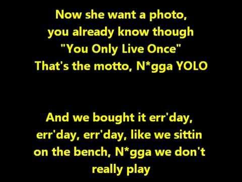 The Motto Karaoke - Drake ft. Lil Wayne - INSTRUMENTAL & LYRICS
